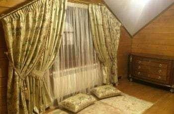 Необычные шторы для спальни