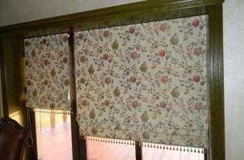 шторы римские на кухню