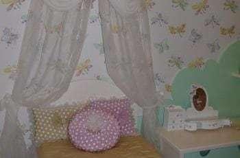Шторы для девочки в детскую